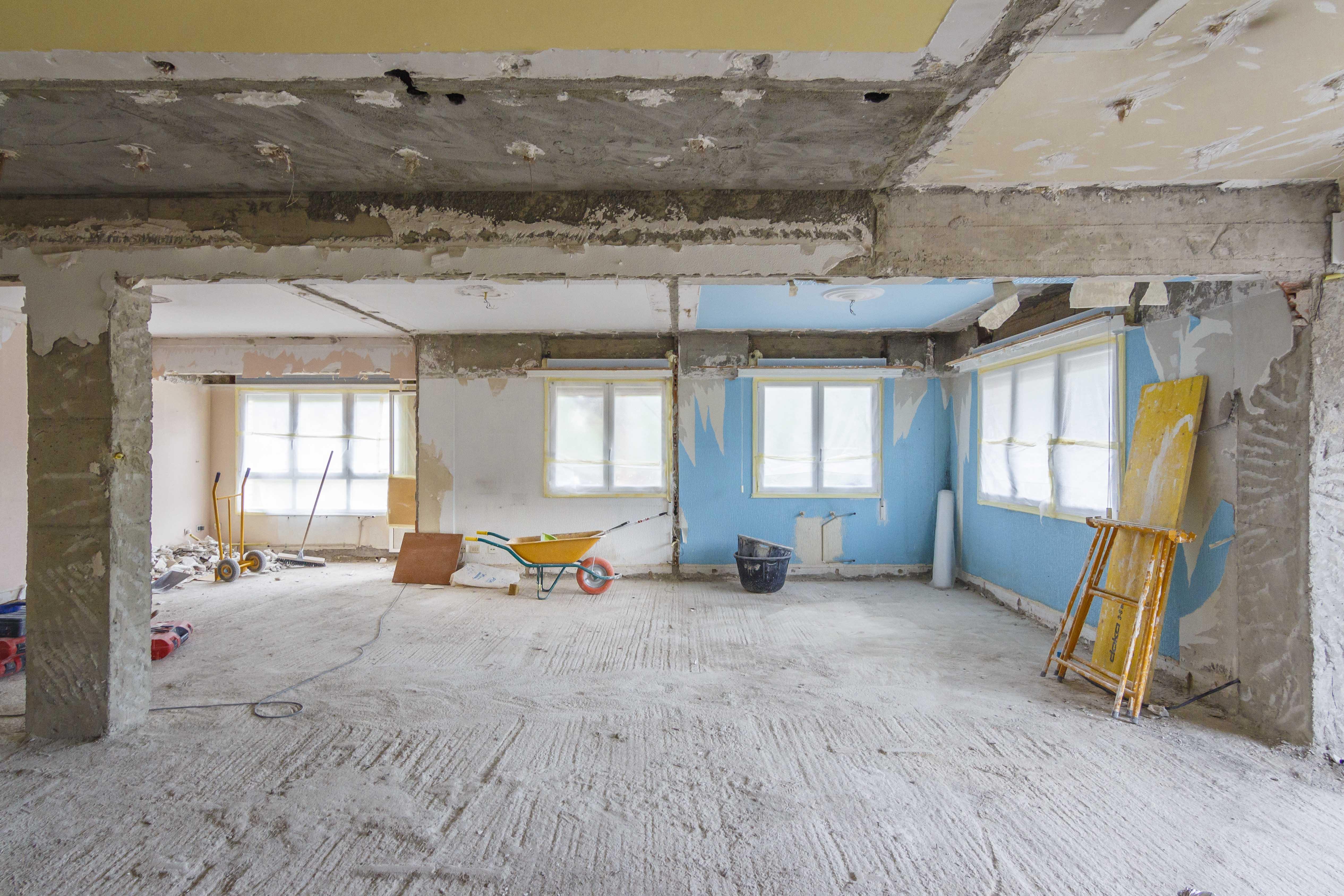 Procesos de trabajo reforma integral de una vivienda para for Reforma integral de una casa